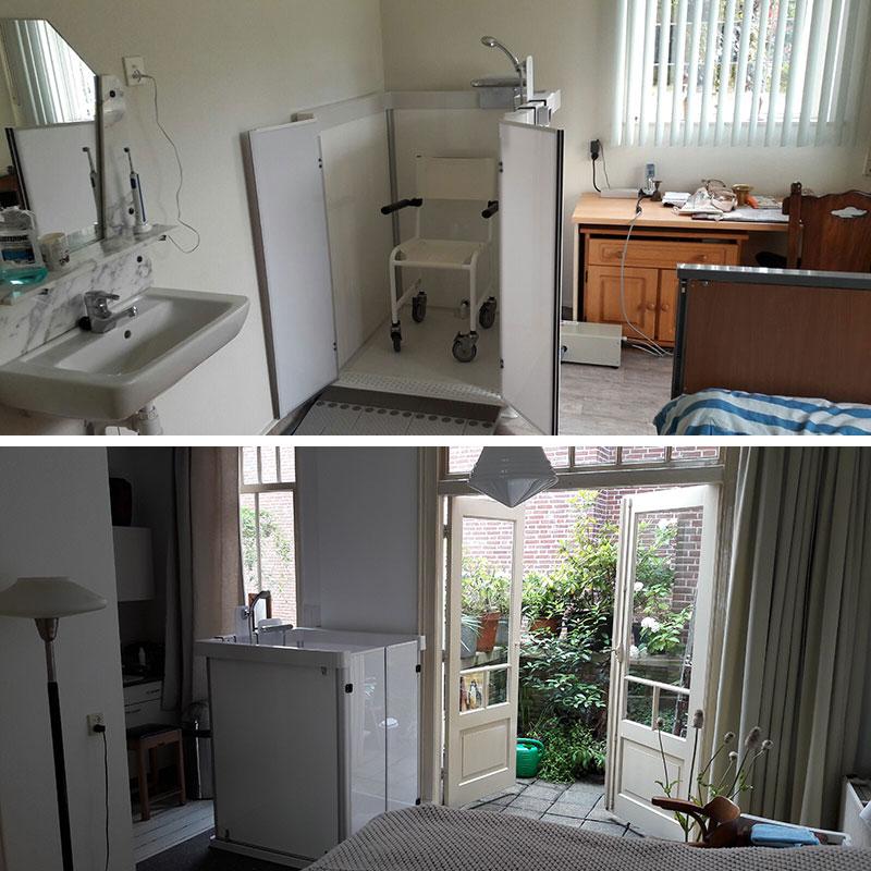 sanizorg-zorgdouche-plaatsing-slaapkamer-woonkamer